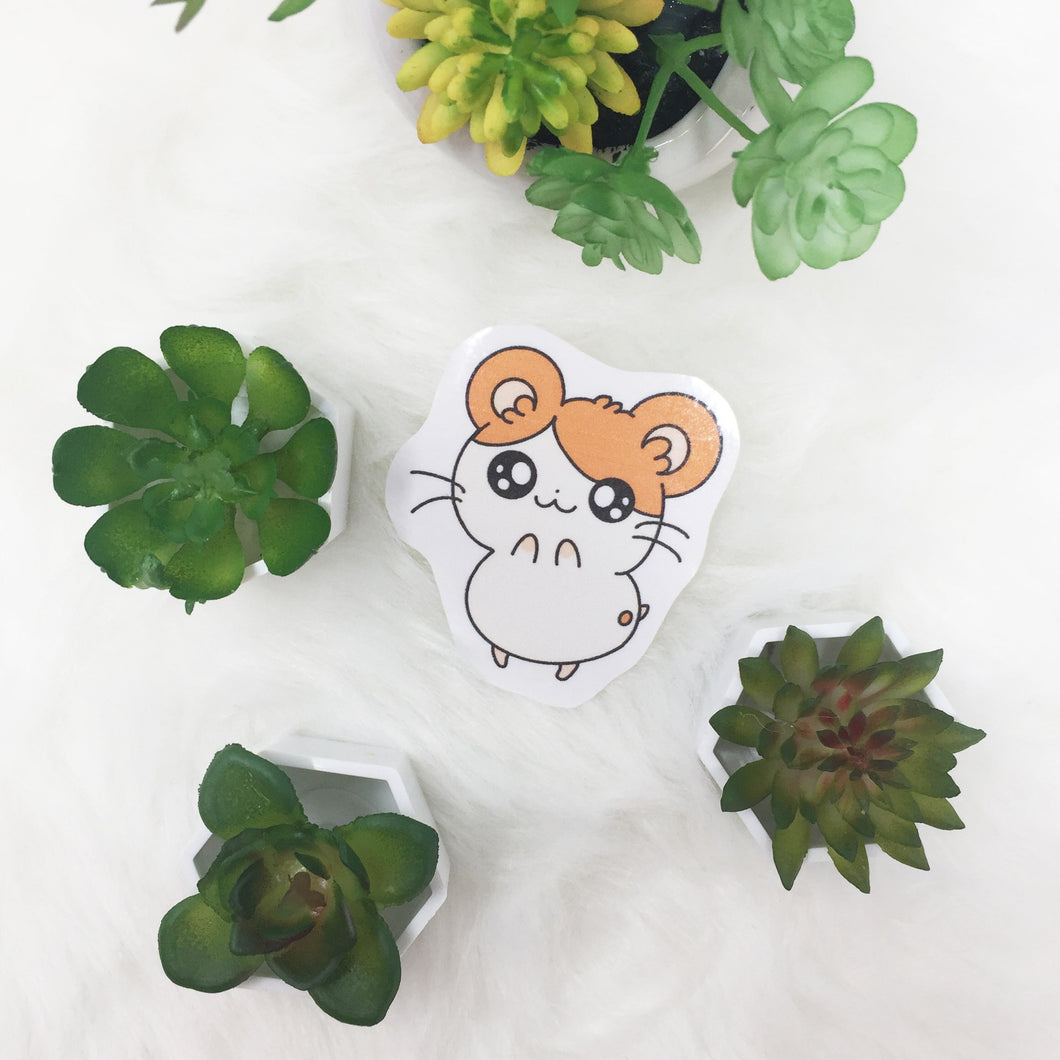 handcut Hamtaro sticker