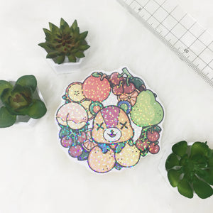 Sparkle Stitches sticker