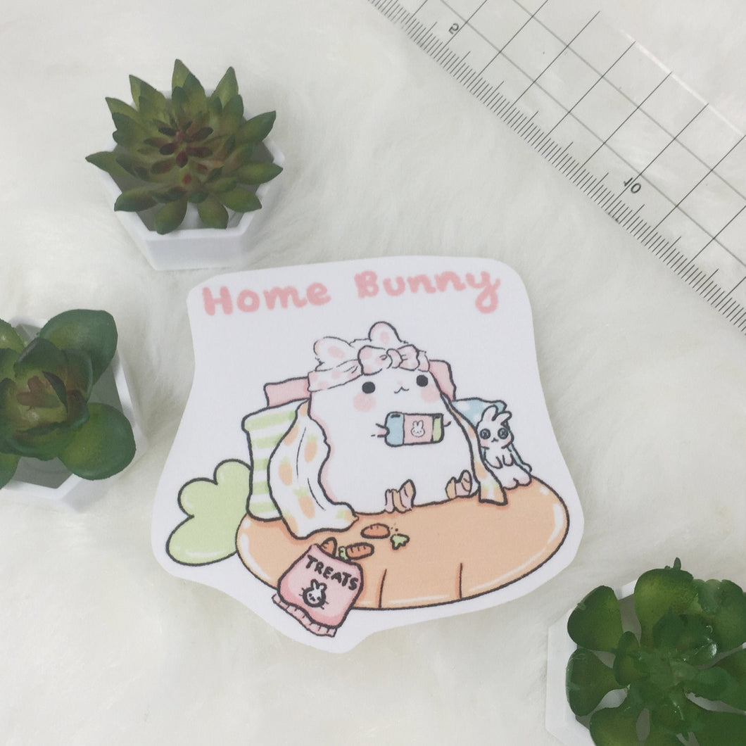 Homebunny sticker