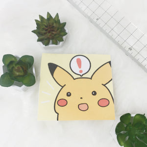 Suprised Pikachu sticker