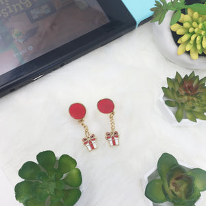 Animal Crossing Balloon Enamel Earings