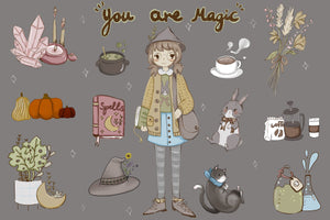 You Are Magic Sticker Sheet