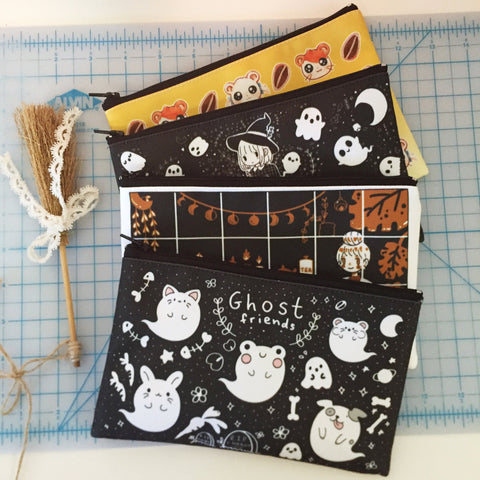 Ghost Friends Pouch