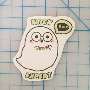 Trick Expert handcut sticker