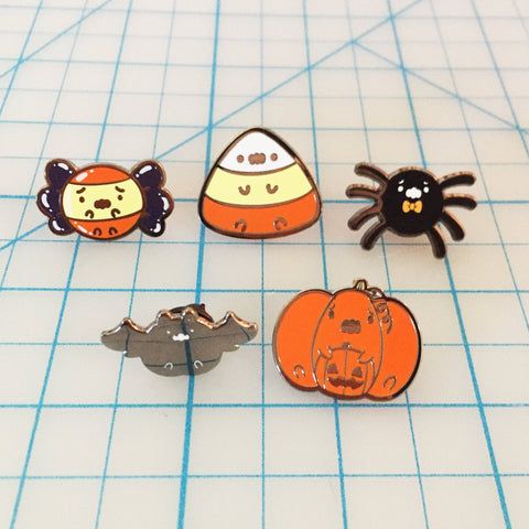 Anxious Pumpkin Pin