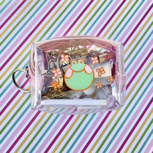 Load image into Gallery viewer, Froggo Clear Mini Pouch