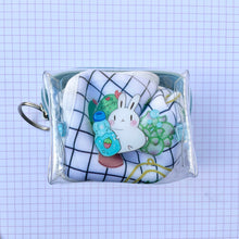 Load image into Gallery viewer, Ramune Bun Clear Mini Pouch