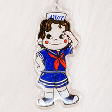 Load image into Gallery viewer, Stranger Things Steve Keychain