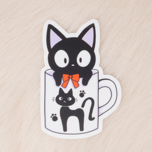 Jiji Mug Vinyl Decal