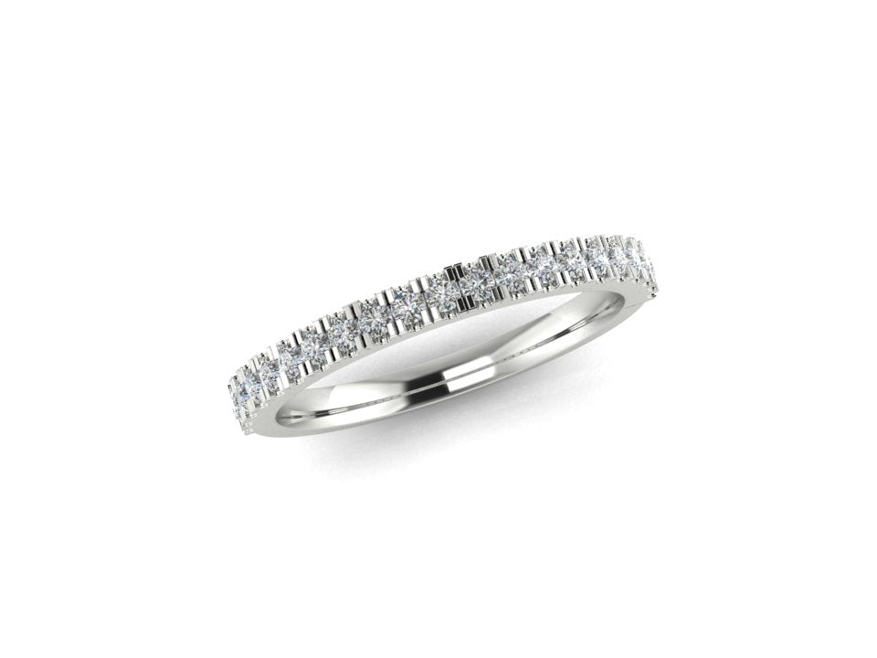 18ct Gold Diamond Wedding Ring