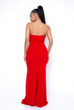 Pretty Girl Maxi Dress - Red