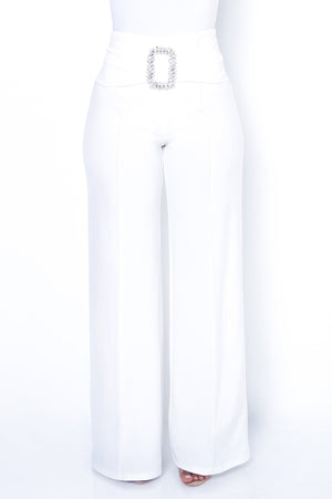 Perla Bottoms - White