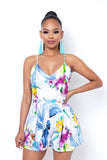 Look At Her Now Romper - White