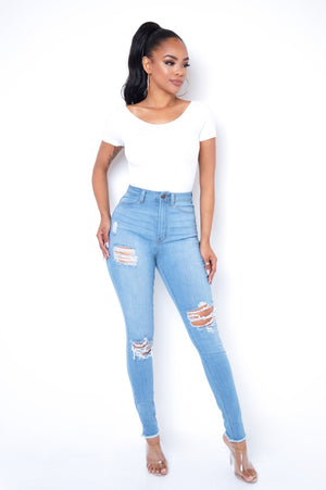 Maria Jeans - Light Blue