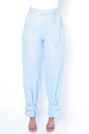 Candy Girl Bottoms - Light Blue