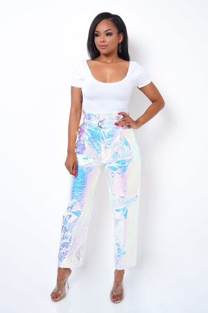 Euphoria Pants - White