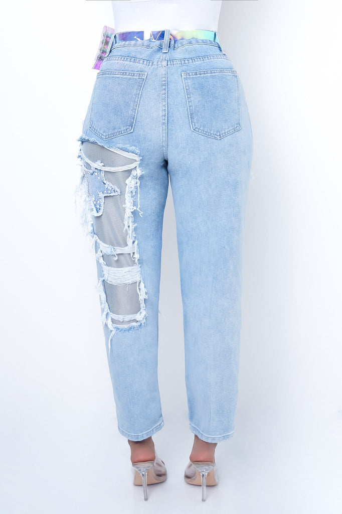 Star Bottoms - Light Blue