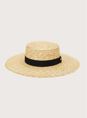 Solid Straw Hat
