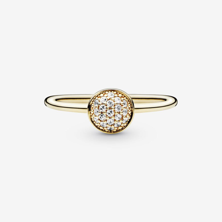 Bague en pavé - FINAL SALE