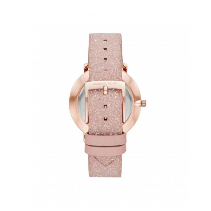 MK Montre Pyper rose scintillante