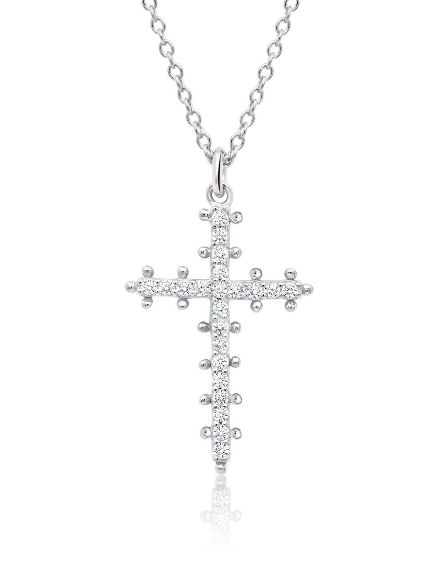 CRISLU Collier collection croix