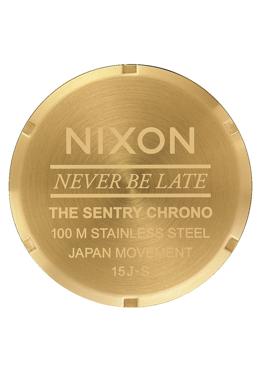 Sentry Chrono Or Fond Noir 42mm