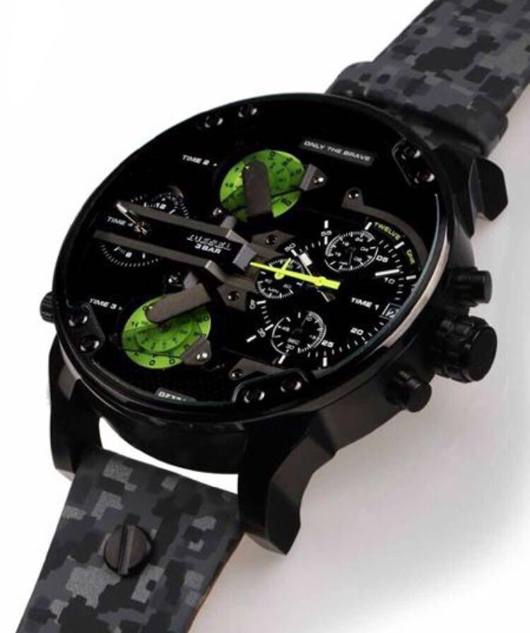 DIESEL Montre Mr. Daddy camouflage