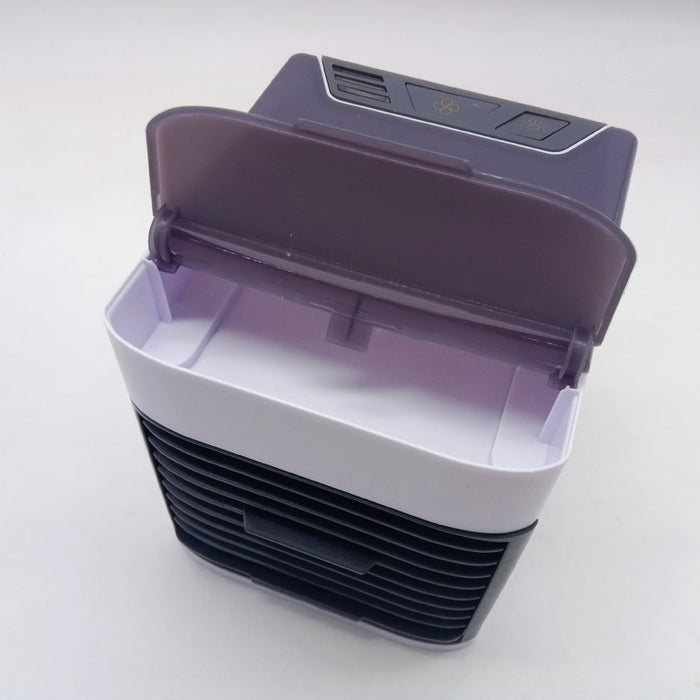 new type mini air cooler small household portable air conditioner USB Mini Fan