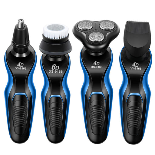 Electric razor three-in-one multi-function electric shaving knife