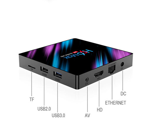 H96max Tv Box Android 10.0 TV Box 4K Smart TV Box5G Dual band WiFi network player