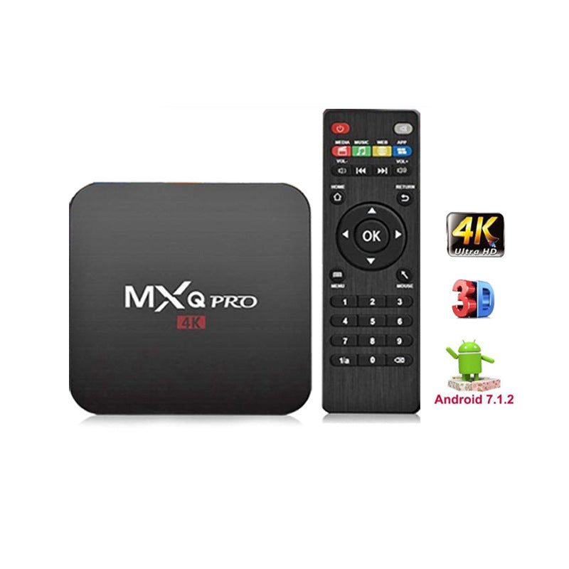 Mxq Pro Tv Box Android TV Box 4K Smart TV Box5G Dual band WiFi network player