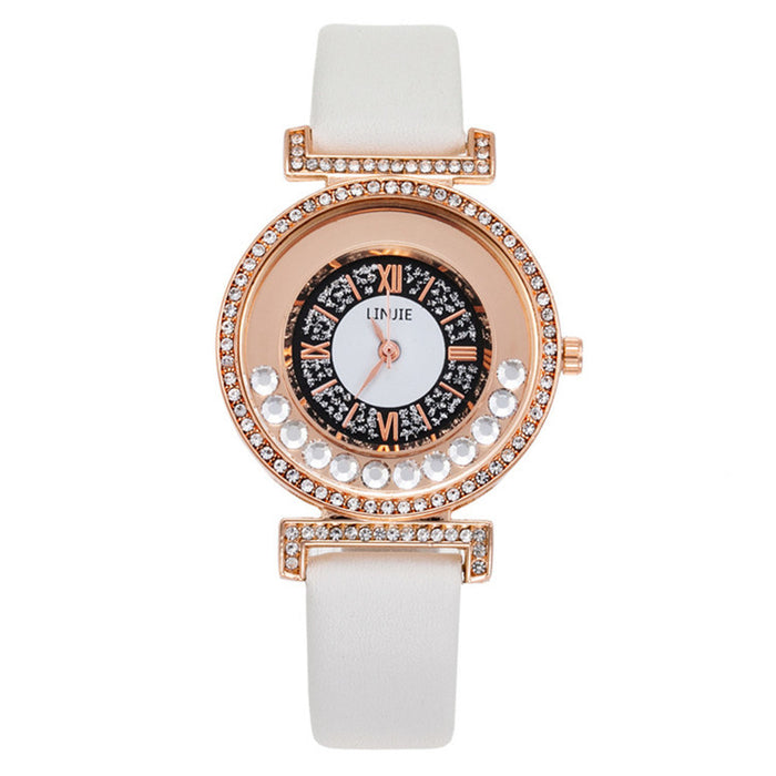 Diamond watch hot sale personality quartz watch popular women's Watch