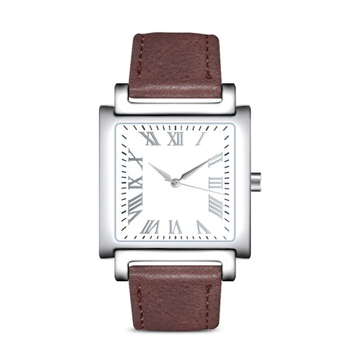 Square belt waterproof men's Quartz Watch