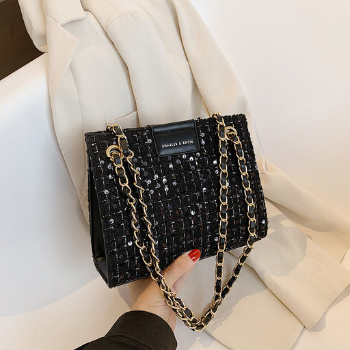 Ladies chain single -shoulder bag