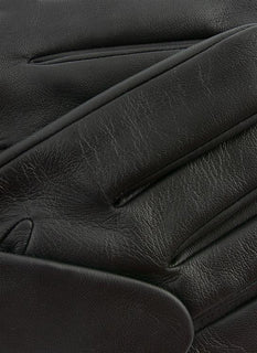 The Suited Racer x Dents Touchscreen Leather Embossed Gloves