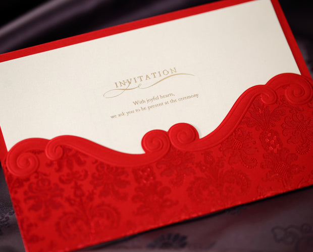 Wedding Invitation Card-1050CW - Wforwedding