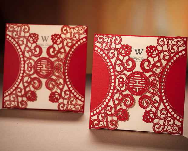 Wedding Invitation Card-506CW - Wforwedding