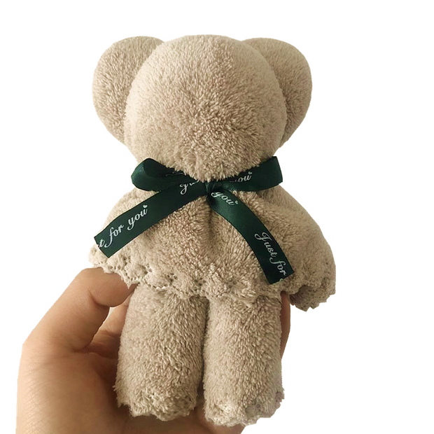 AFF121--Bear Towel gift with bag