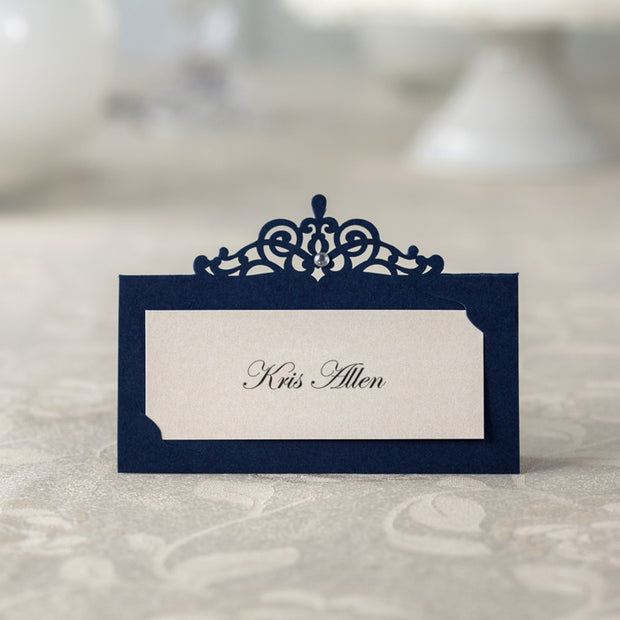 Place Card , Wedding Name Tent--422PC - Wforwedding