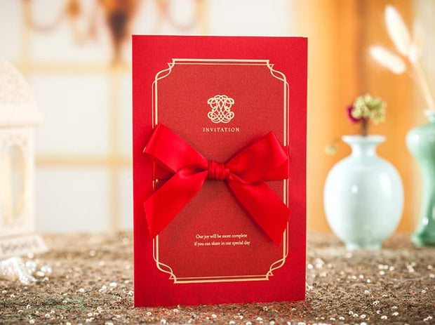 Wedding Invitation Card-7021CW - Wforwedding