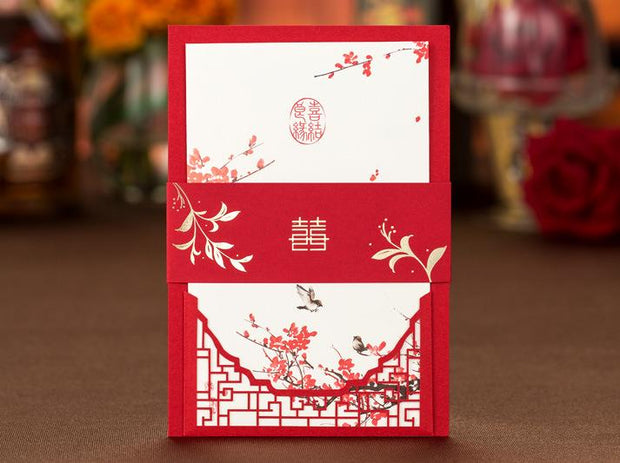 Wedding Invitation Card-223YC - Wforwedding