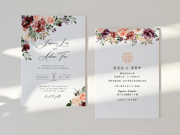 Wedding Invitation Card--388FD