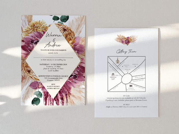 Wedding Invitation Card--345FD