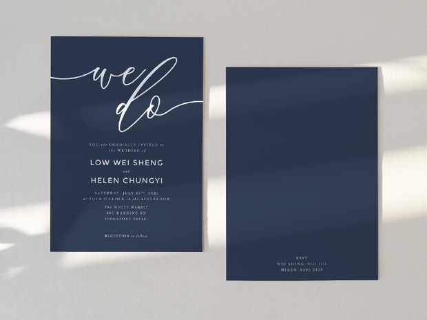 Wedding Invitation Card--366FD