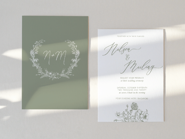 Wedding Invitation Card--386FD