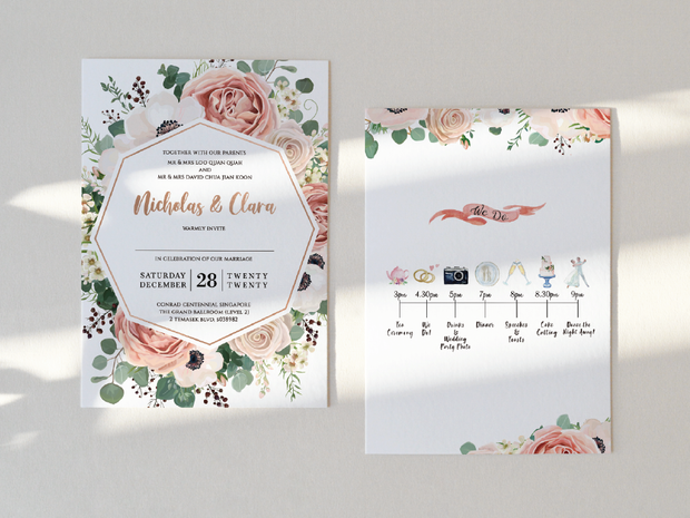 Wedding Invitation Card-411FD