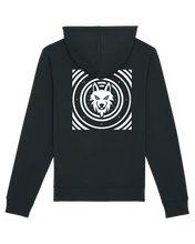 Load image into Gallery viewer, YRSK Hoodie (klein logo + wolf achterkant)