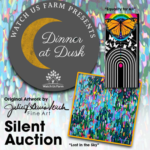 Dinner at Dusk Benefit Gala and Silent Auction for Watch Us Farm non-profit