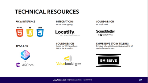 Technical Resources Slide