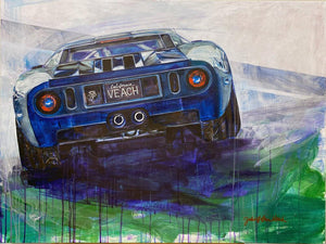 """California GT"" 30x40"" Orignal on Canvas"